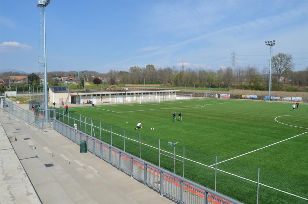 Campo sportivo di santa cristinetta for Campo sportivo seminterrato